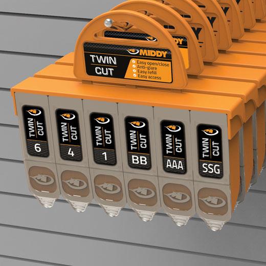 Middy Super Soft Hinge Shot 7 Way Dispenser