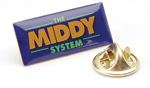 MIDDY Promotional Pin Badge
